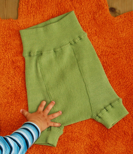 Babyidea Wool Hour Shorties Diaper Pants