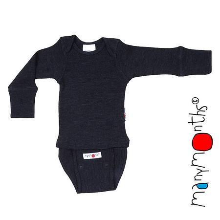 ManyMonths Natural Woollies Body/Shirt Long Sleeve