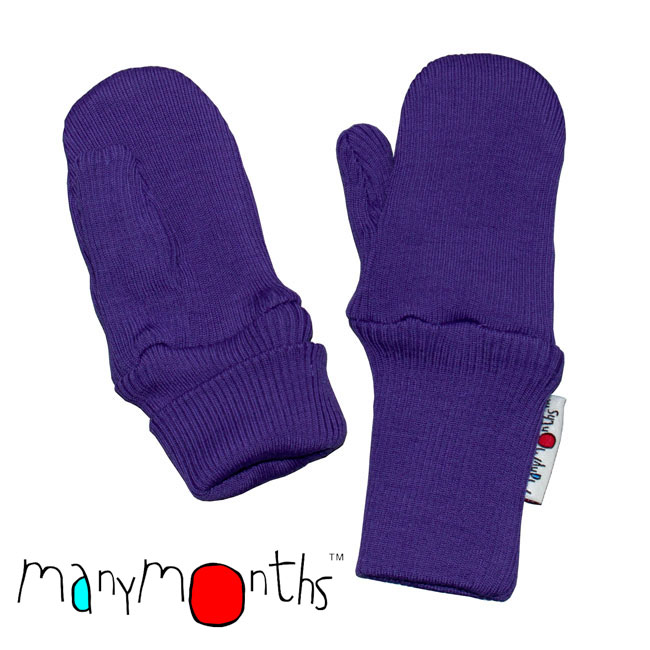 ManyMonths Natural Woollies Long Cuff Mittens