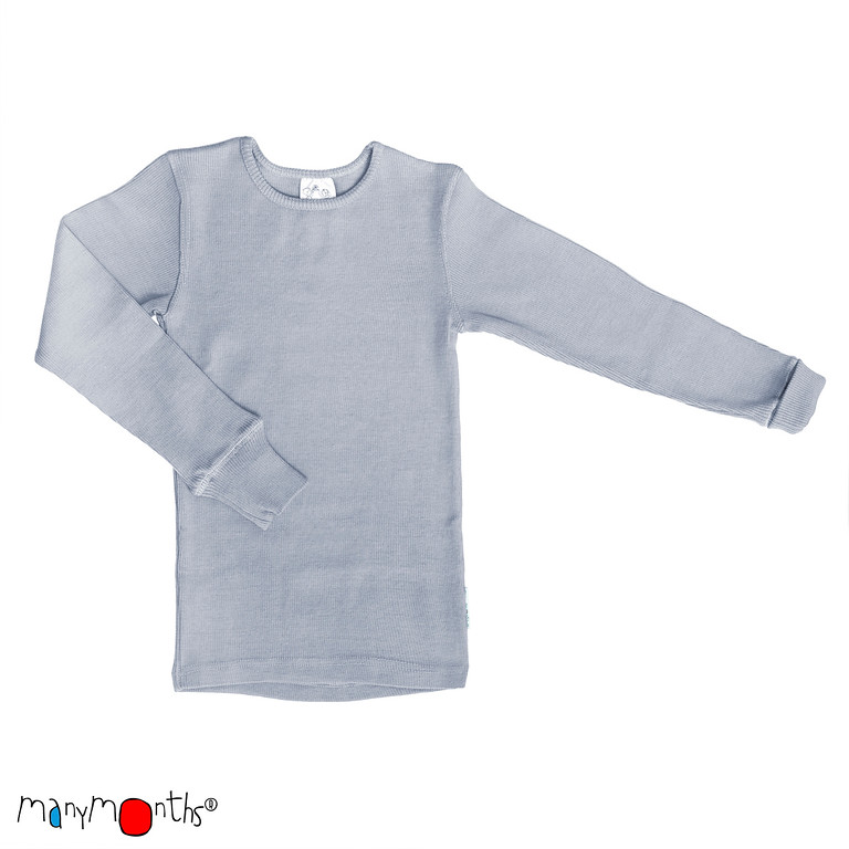 ManyMonths Natural Woollies Shirt Long Sleeve
