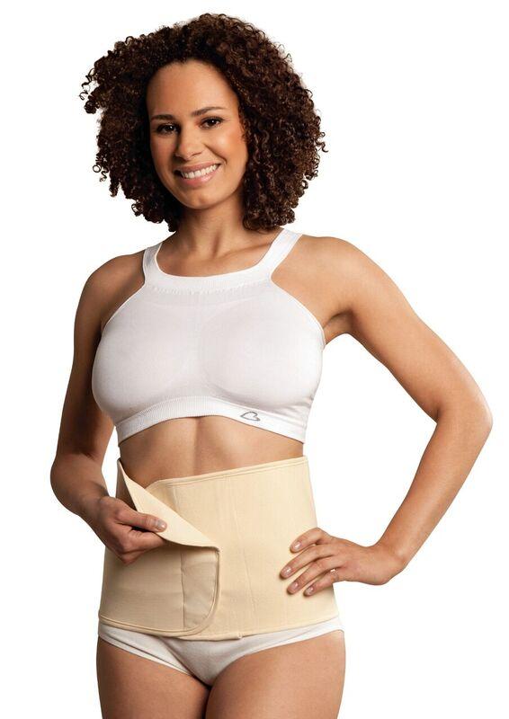 Carriwell Seamless Organic Cotton Belly Binder