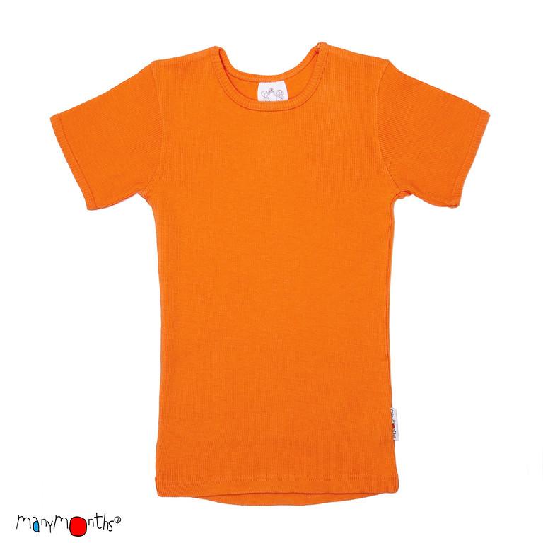 ManyMonths Natural Woollies Shirt Short Sleeve