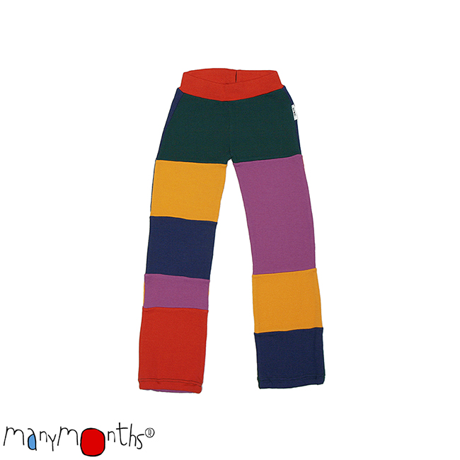 ManyMonths Natural Woollies Patchwork Pants UNiQUE