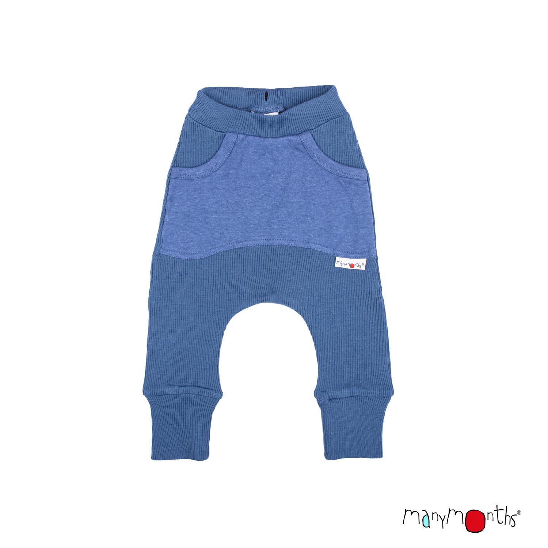 ManyMonths Natural Woollies Kangaroo Trousers with Big Pocket