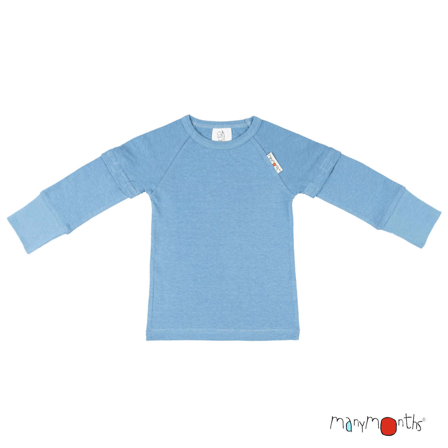 ManyMonths ECO Hempies Long/Short Sleeve Top