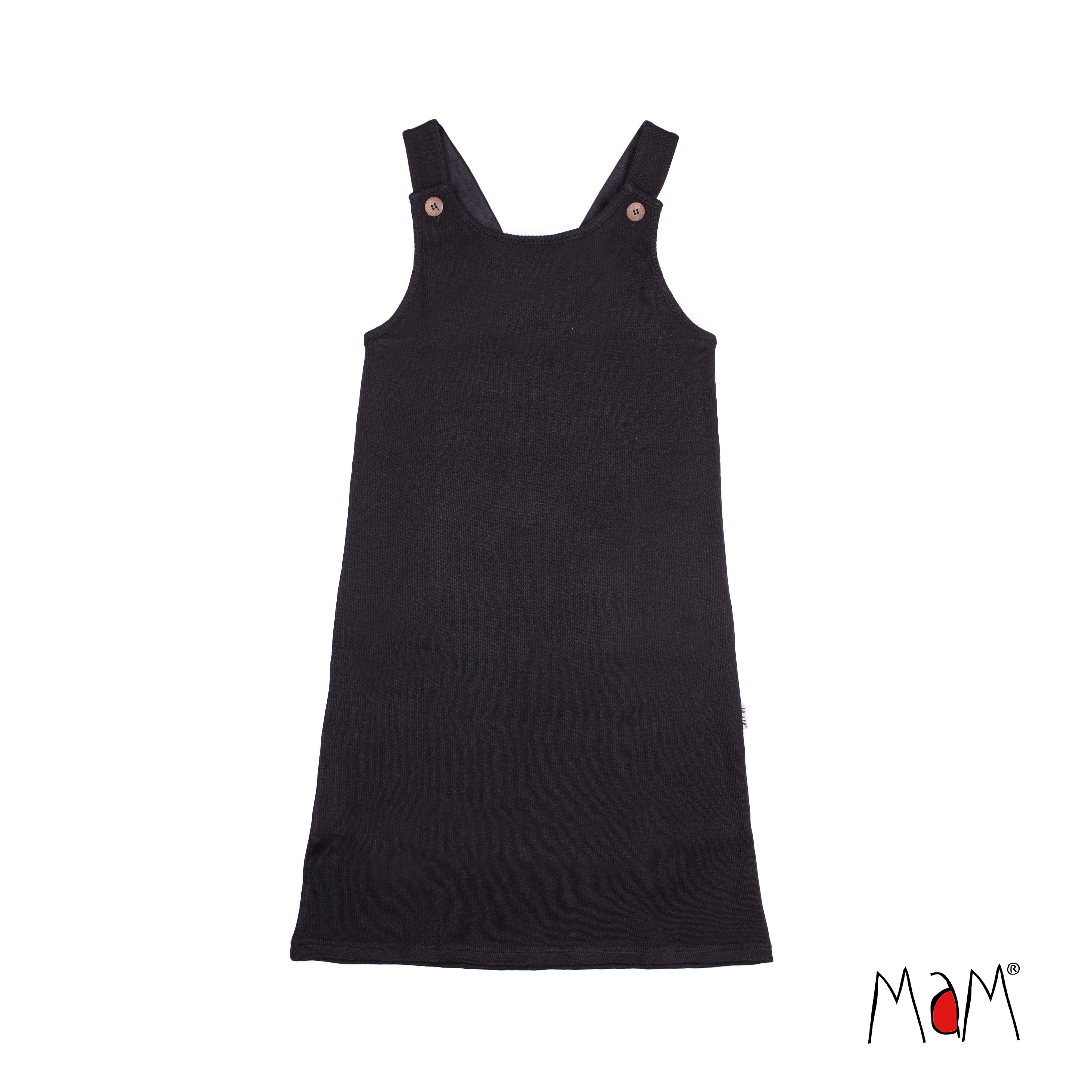 MaM Natural Woollies Short Pinafore Dress