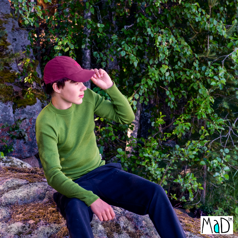 MaD Natural Woollies Thermal Long Sleeve T-Shirt