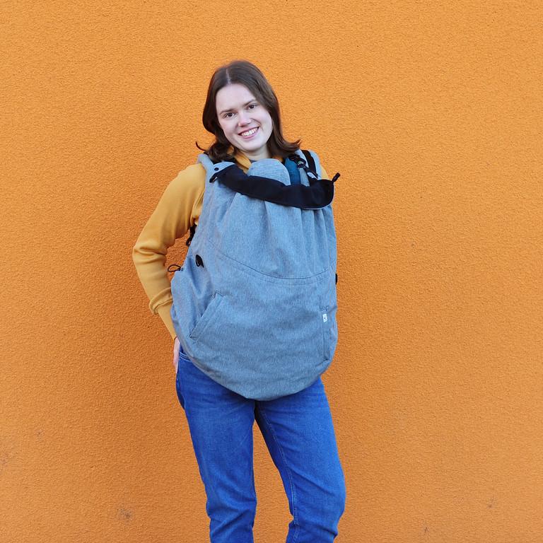 MaM Ultra Plus 2-in-1 Softshell FleX Babywearing Cover