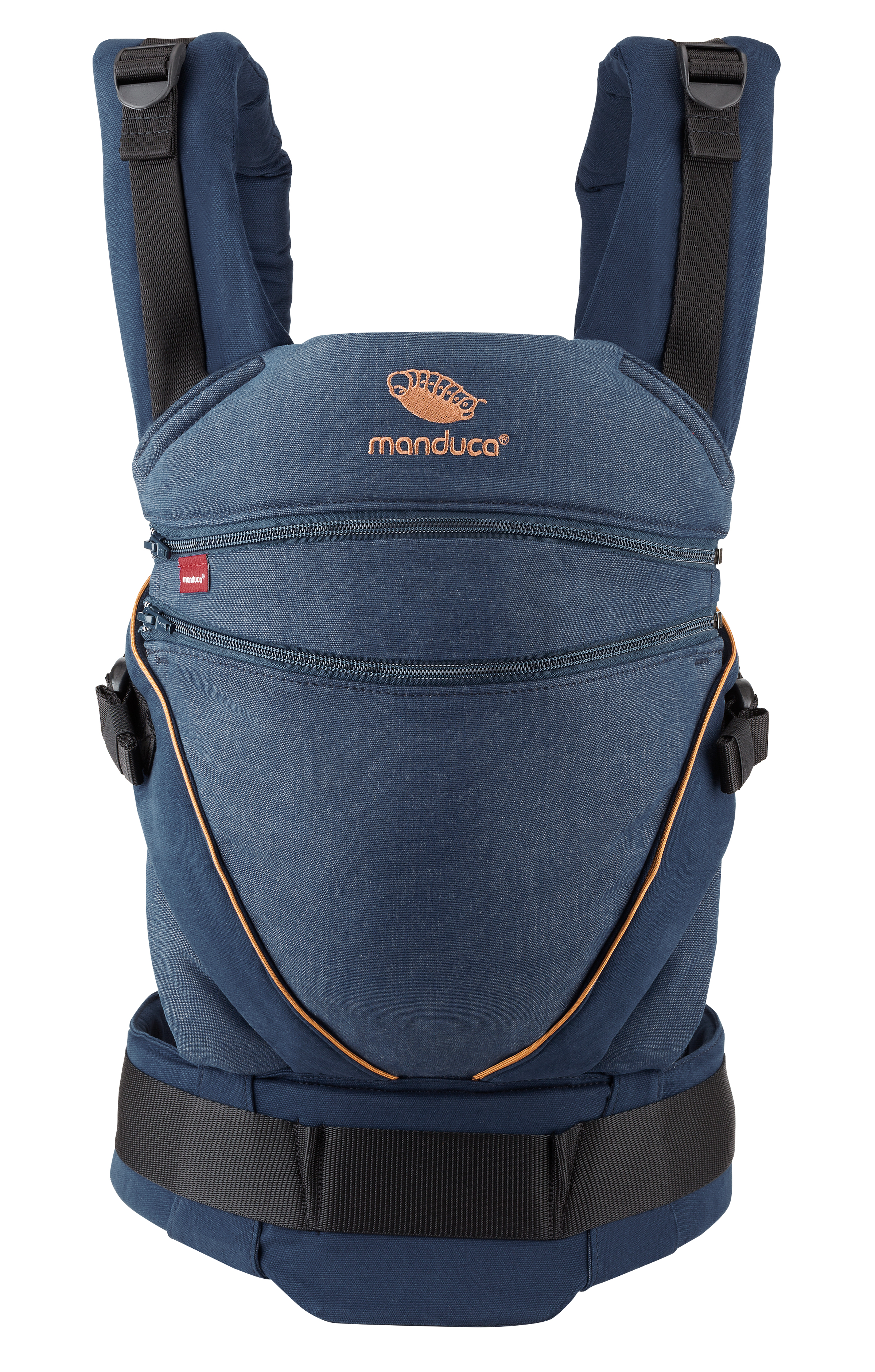 manduca XT, denimblue-toffee