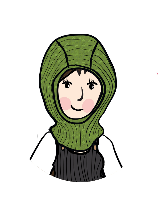 MaM/MaD Natural Woollies Elephant Hood