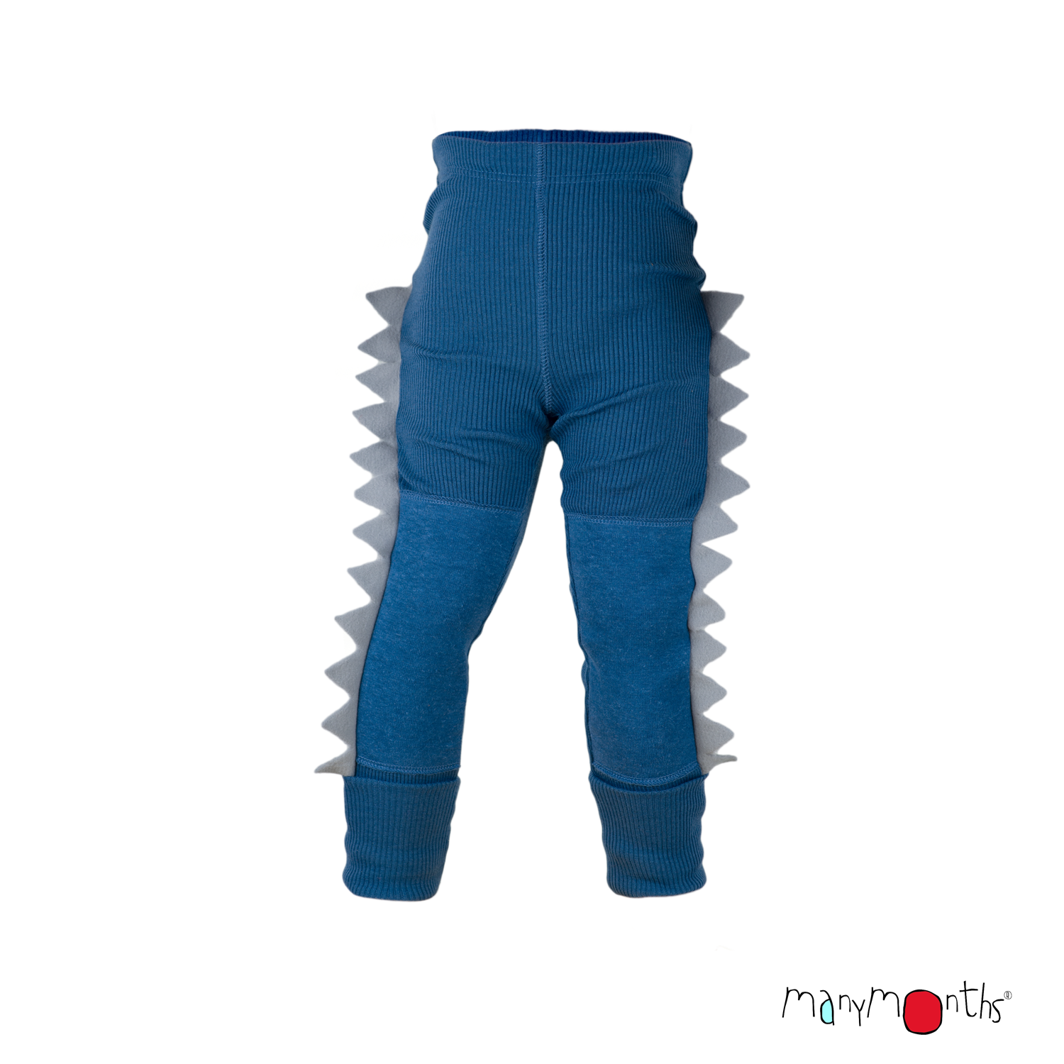 ManyMonths Natural Woollies Dino Unisex Leggings with knee patches UNiQUE