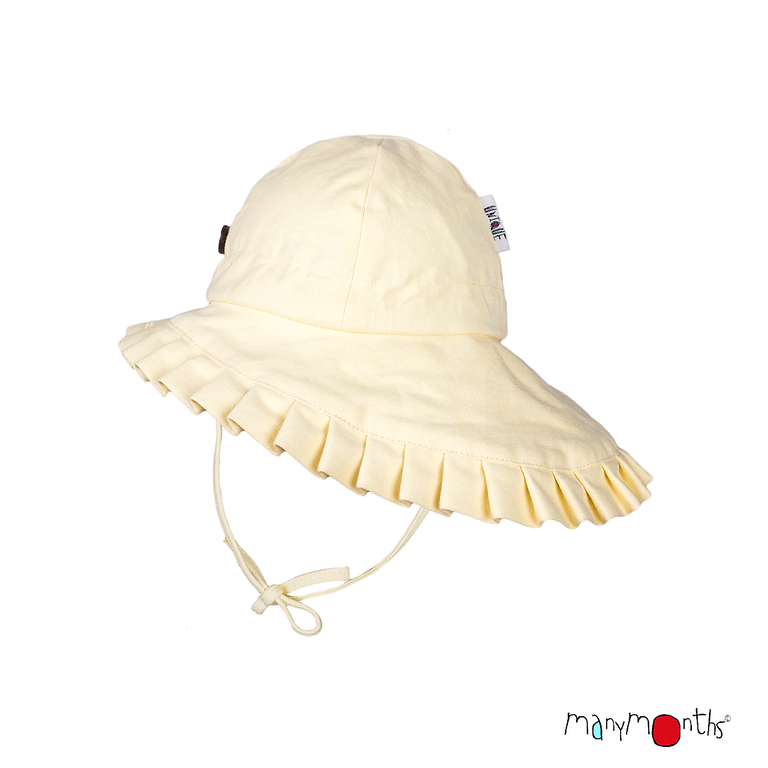 ManyMonths ECO Hempies Adjustable Summer Hat with Frill UNiQUE