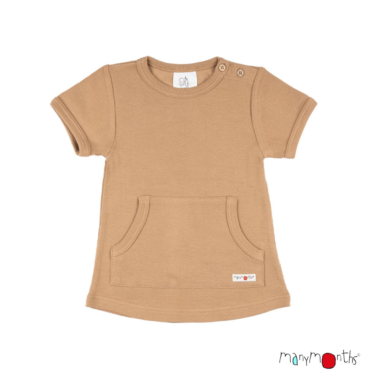 ManyMonths ECO Kangaroo T-Shirt with Big Pocket
