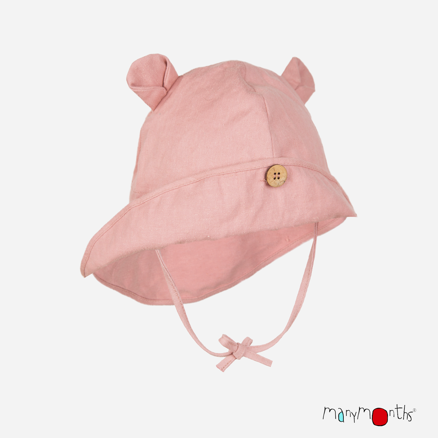 ManyMonths ECO Hempies Adjustable Summer Hat with Ears UNiQUE