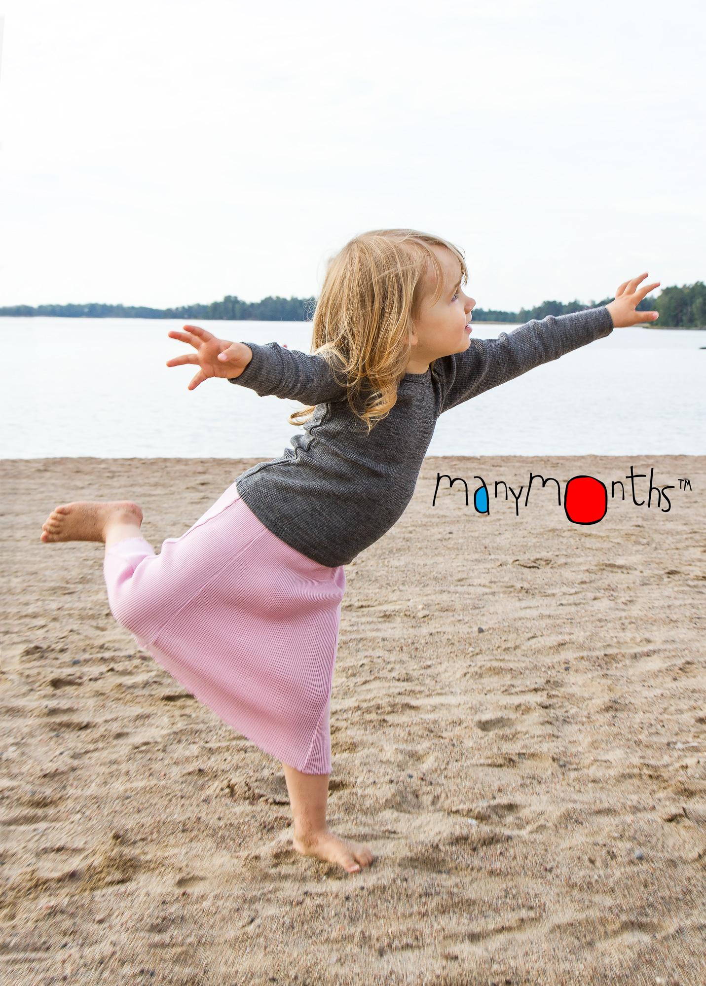 ManyMonths Natural Wool Dress/Skirt