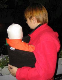 Babyidea Fleece Pocket Sling