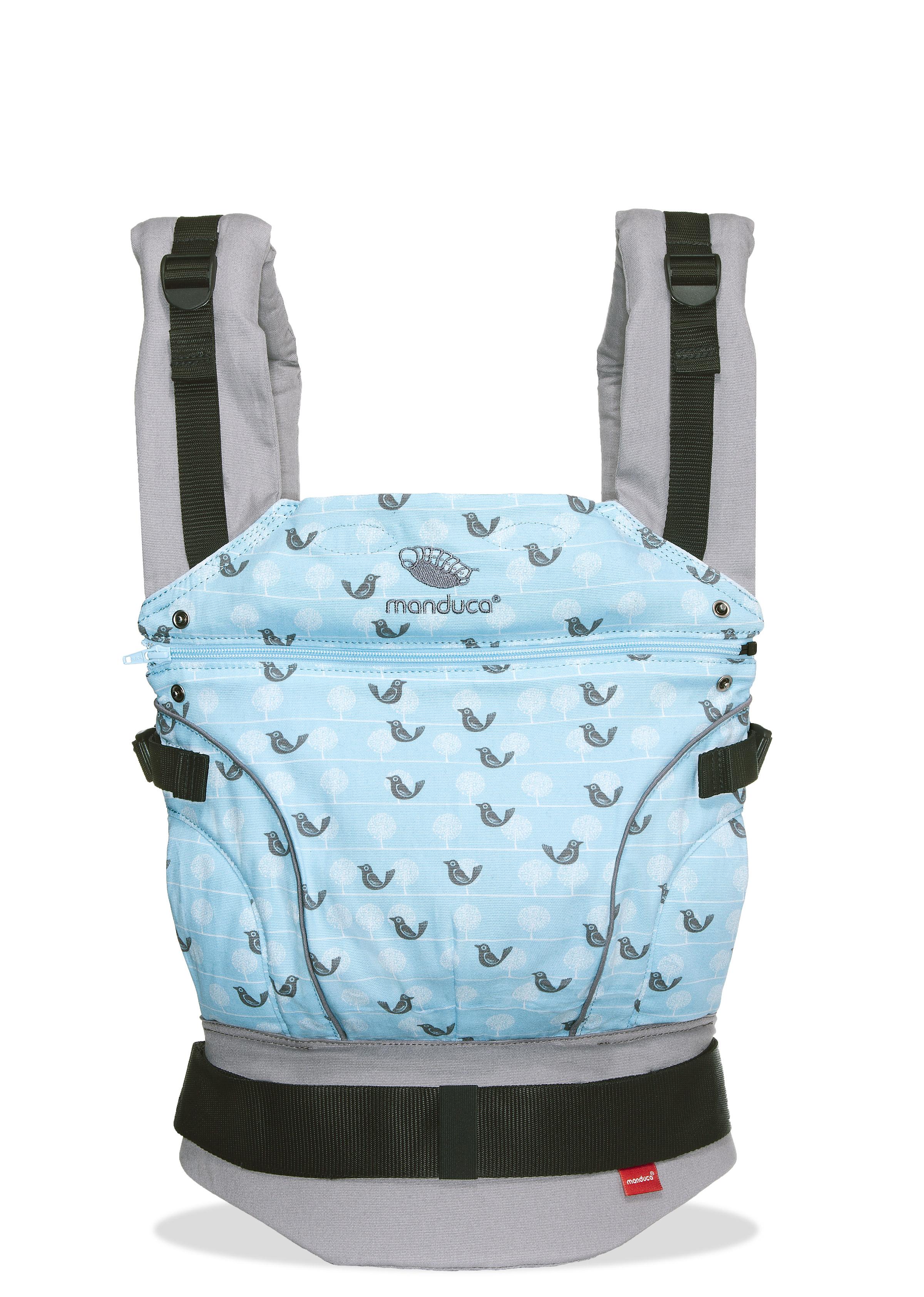 manduca First LimitedEdition, Birdie SparklingBlue