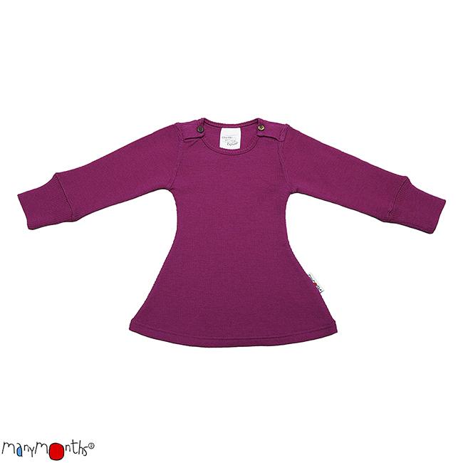 ManyMonths Natural Woollies Long Sleeve Dress