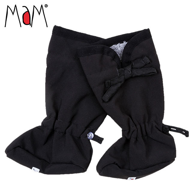 MaM SoftShell Baby Booties with Bow