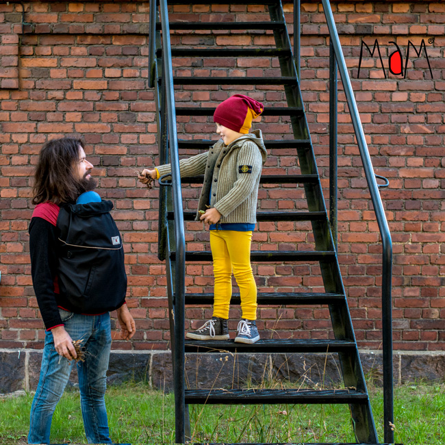 MaM All-Season Combo FleX Babywearing Cover (3-in-1)