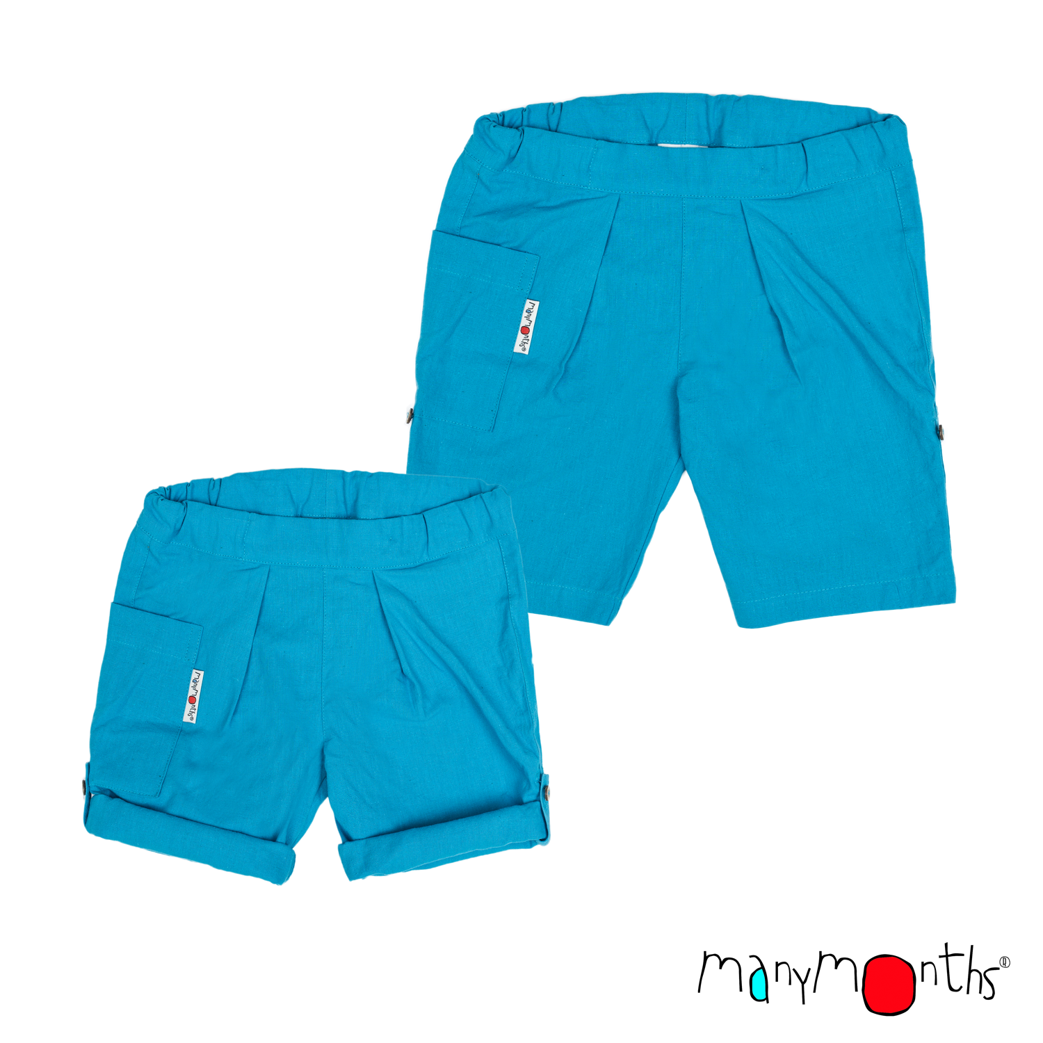 ManyMonths ECO Hempies Unisex Summer Shorts
