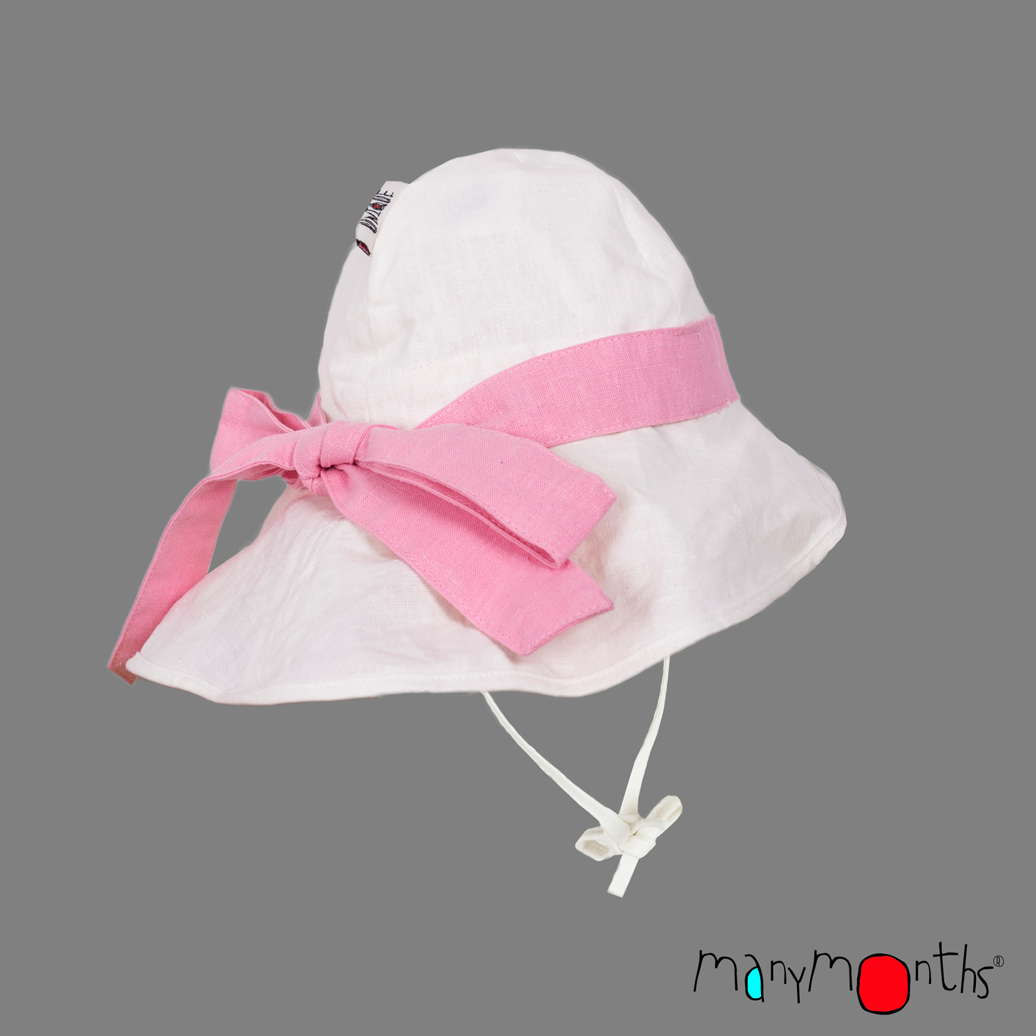 ManyMonths ECO Hempies Adjustable Summer Hat with Bow UNiQUE