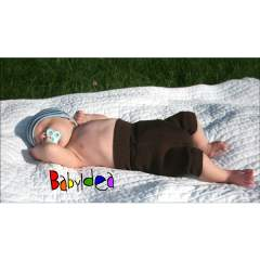 Babyidea Wool Hour Shorties Diaper Pants