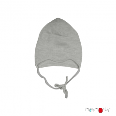 ManyMonths Natural Woollies Baby Cap with Straps