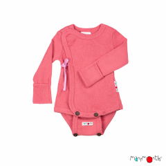 ManyMonths Natural Woollies Kimono Body/Shirt with Foldover Sleeves