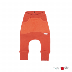 ManyMonths Natural Woollies Kangaroo Trousers with Big Pocket