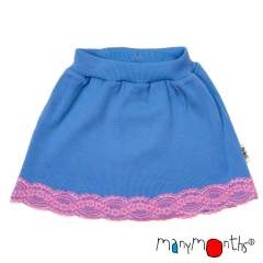 ManyMonths Natural Woollies Princess Skirt with Lace UNiQUE