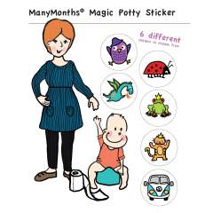 ManyMonths Magic Potty Sticker *