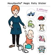 ManyMonths Magic Potty Sticker
