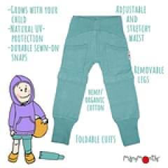 ManyMonths ECO Hempies Long/Short Yoga Trousers