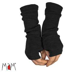 MaM Natural Woollies Long Fingerless Mittens