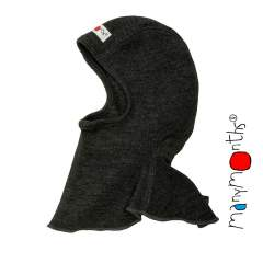 ManyMonths Natural Woollies Elephant Hood Foggy Black
