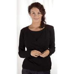 Carriwell Kaj Nursing Shirt Long Sleeve
