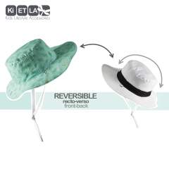 Ki ET LA Kapel Reversible Sun Hat (Anti-UV), Desert Kaktus