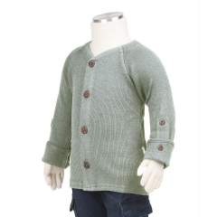 ManyMonths Natural Woollies Cardigan with Adjustable Sleeves