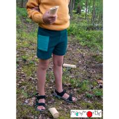 ManyMonths Natural Woollies Thermal Under/Over Unisex Shorts with Pockets UNiQUE