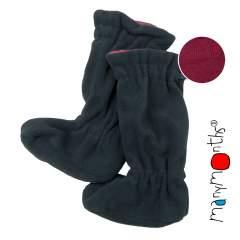 ManyMonths Natural Woollies Adjustable Winter Booties