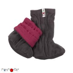 ManyMonths Natural Woollies Adjustable Winter Booties