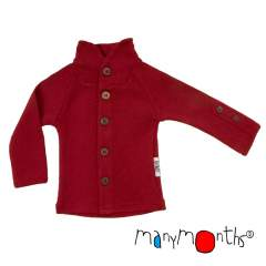 ManyMonths Natural Woollies Cardigan with Button Collar UNiQUE