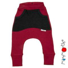 ManyMonths Natural Woollies Kangaroo Trousers with Big Pockets