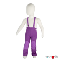 ManyMonths Natural Woollies Hazel Trousers with Suspenders