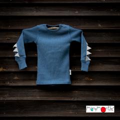 ManyMonths Natural Woollies Long Sleeve Dino Shirt UNiQUE