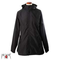 MaM All-Season Combo Babywearing Jacket 3-in-1, Black