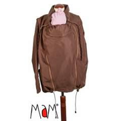 MaM Two-Way Deluxe Babywearing Jacket, Wenge/Nut Brown