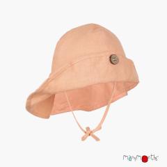 ManyMonths ECO Hempies Adjustable Summer Hat Light, Lionheart&beyond, Peach Rose