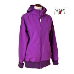 MaM SoftShell Babywearing Jacket, Violet Chimera